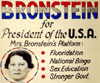 Yetta Bronstein for president